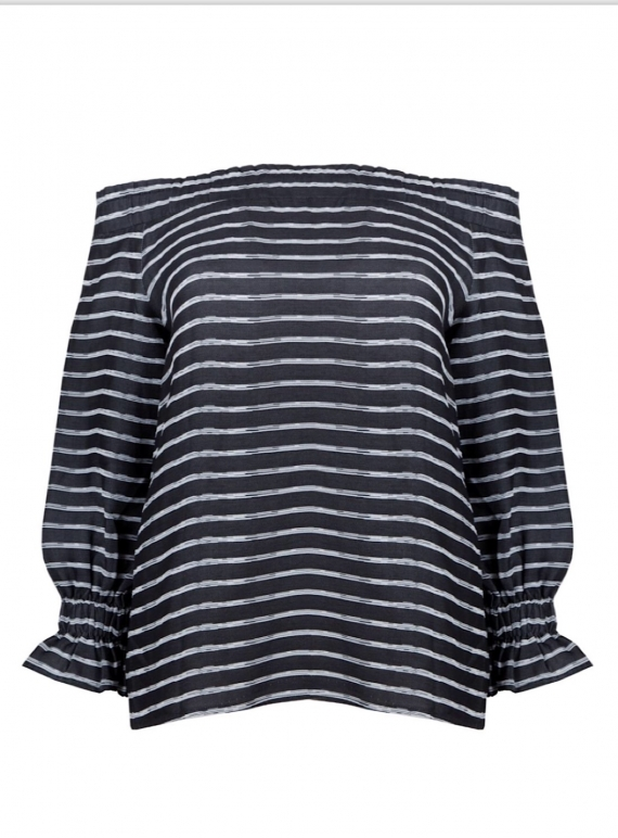 Young British Designers: GENTLE SONG Striped Top by Kelly Love