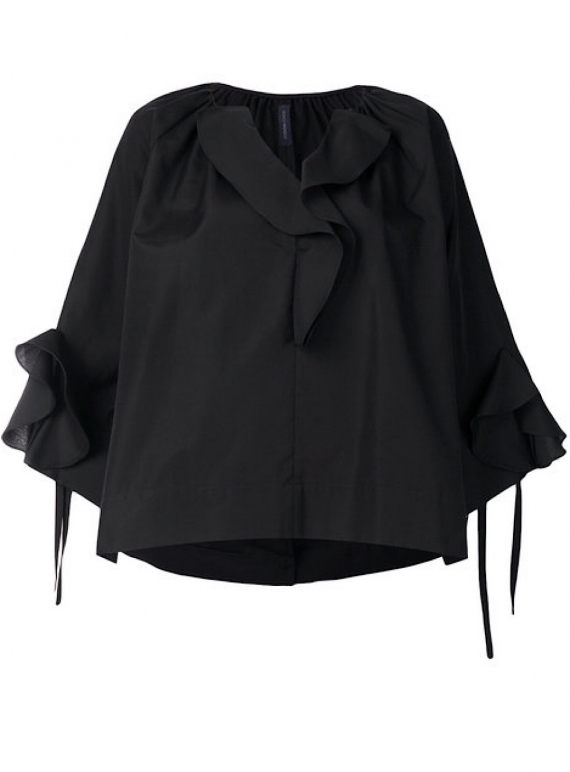 Young British Designers: KARIN TOP in Black by Eudon Choi