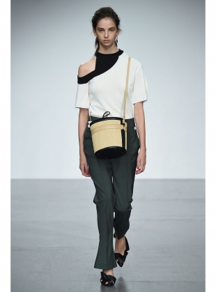 Young British Designers: ROMAINE KNIT TOP by Eudon Choi