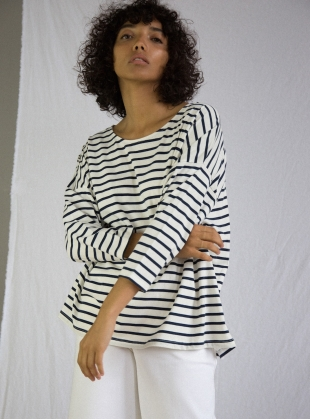 ROSIE Organic Cotton Breton Top - sold out by Beaumont Organic
