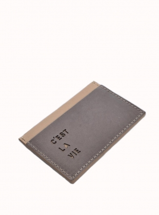 C'EST LA VIE Card Holder by Marlow London