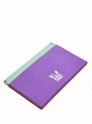 Young British Designers: EXIST LOUDLY Card Holder by Marlow London