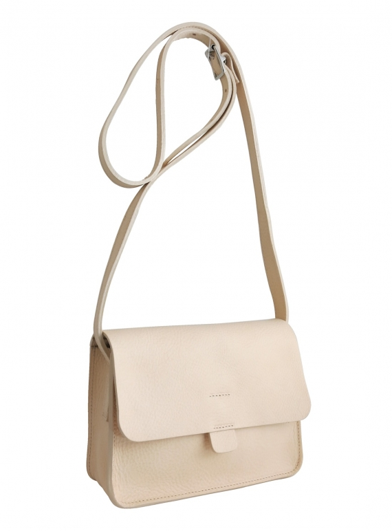 Young British Designers: TAB BAG with Pockets. Nude - last one by Kate Sheridan