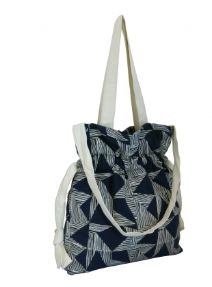 Gather Tote. Navy Kindred by Kate Sheridan