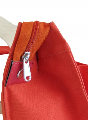 Young British Designers: MINI BOX RUCKSACK. Orange by Kate Sheridan