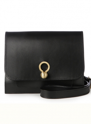 Eddie Box Crossbody Bag in Smooth Black by Danielle Foster