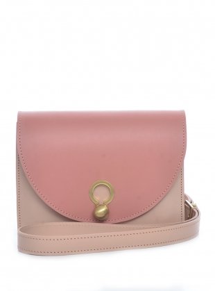 Charlie Box Crossbody Bag in Pink by Danielle Foster