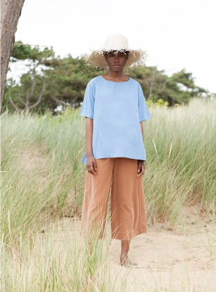 Young British Designers: NICOLE MARIA COFFEE CULOTTES by Beaumont Organic