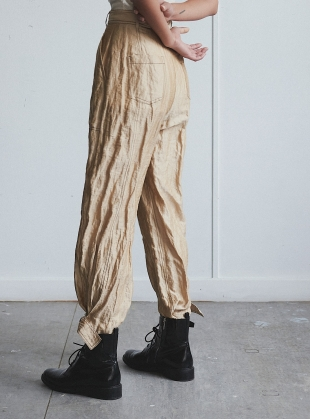 Young British Designers: THE ANKLE BUCKLE TROUSERS - last pair (xs) by WEN PAN