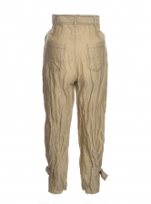 THE ANKLE BUCKLE TROUSERS - Last pair (XS)