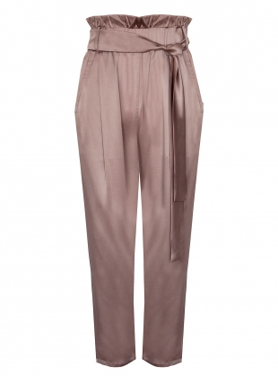 VINTAGE ROSE TROUSERS. Pale Pink by Kelly Love