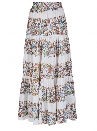 Young British Designers: The Somerleyton Skirt. Mermaid Print - Last one (XXS) by Klements
