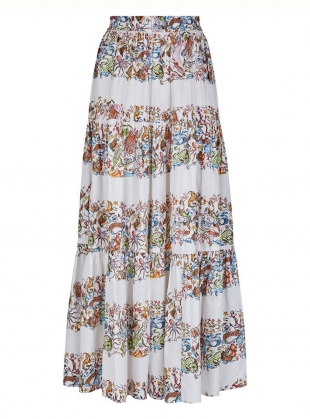Young British Designers: The Somerleyton Skirt. Mermaid Print by Klements