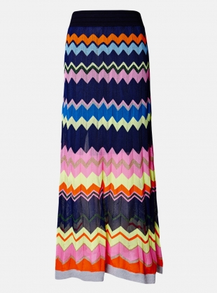 Stripe Maxi Skirt  by J.Won