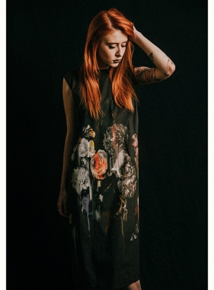 BEAUTY IN DECAY DRESS 1 by IA London