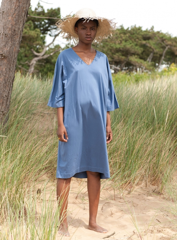 Young British Designers: MARGO ORGANIC JERSEY DRESS by Beaumont Organic