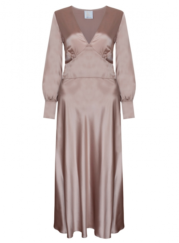 Young British Designers: VINTAGE ROSE DRESS. Pale Pink - Last one (12) by Kelly Love