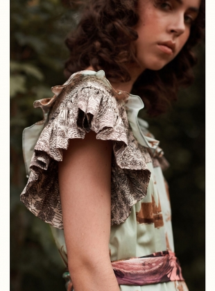 Young British Designers: The Laura Prairie Dress - Last one (S) by Klements