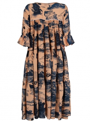 Young British Designers: The Somerleyton Dress. Doomed Voyage - Sold Out by Klements