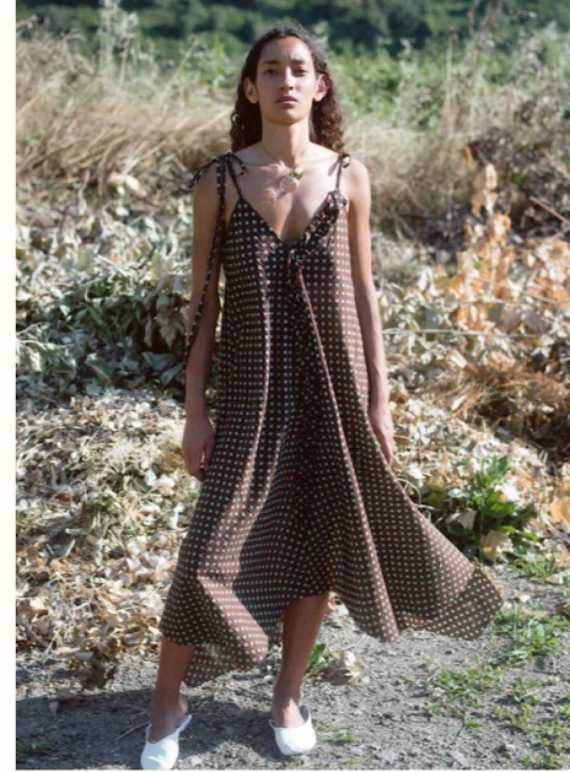 Young British Designers: PAYTON POLKA DOT SUN DRESS - back in stock by Belize