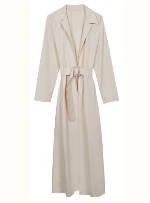 Young British Designers: NATURAL ORGANIC SHIRT DRESS - Last one (8) by BITE STUDIOS