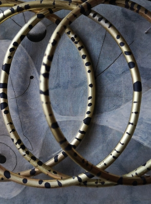 Young British Designers: TIGER HOOPS by Ruby Jack