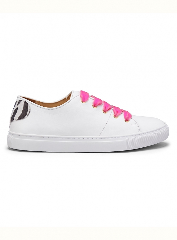 Young British Designers: VELVET LACE SWEETHEART SNEAKERS - Last pair (42) by Rogue Matilda