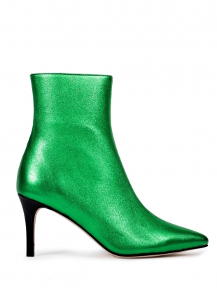 RAZOR Pointed Boot. Green by HAVVA
