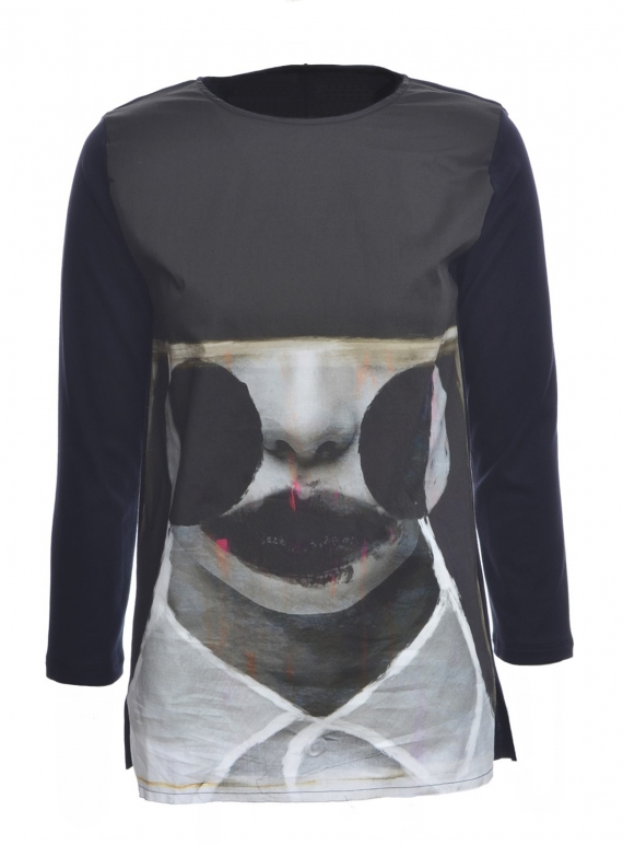 Young British Designers: ESSENTIAL ART TEE 2 - Last one (M) by IA London