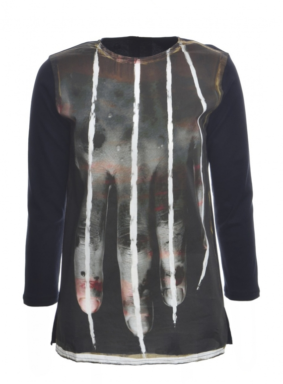 Young British Designers: ESSENTIAL ART TEE 3 - last one (M) by IA London