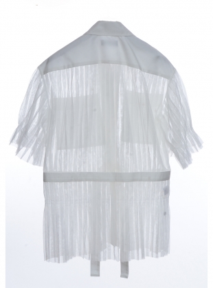 Young British Designers: ENZO SHIRT. White - Last one (8) by Eudon Choi