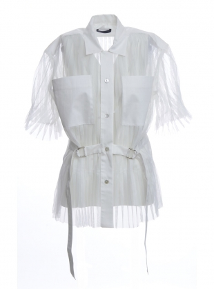 ENZO SHIRT. White  by Eudon Choi