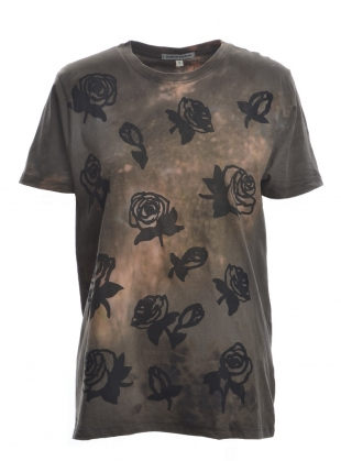 ROSES I Am Panther. Grey Tee.   by Simeon Farrar
