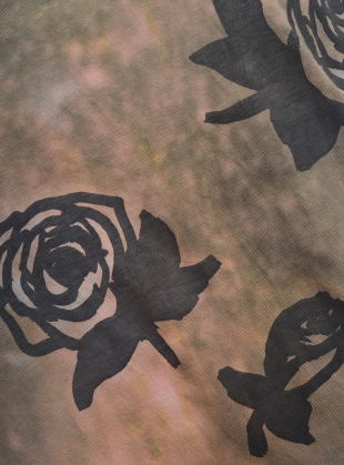 Young British Designers: ROSES I Am Panther. Grey Tee.  by Simeon Farrar