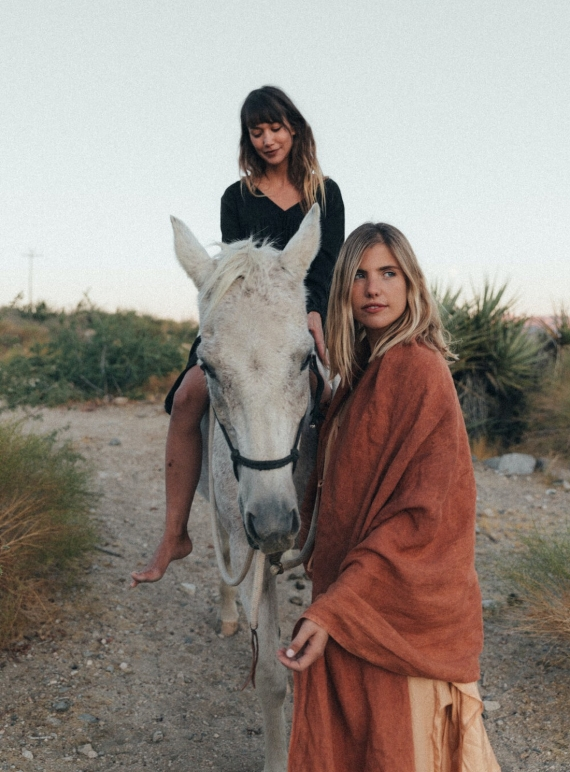 Young British Designers: GIANT OCHRE EARTH EVERYWHERE LINEN WRAP by A Perfect Nomad