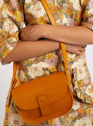 Saffron CELESTE Geo BAG by Kate Sheridan