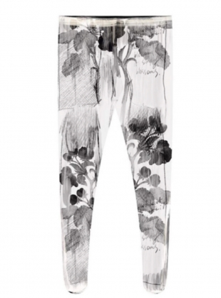 Young British Designers: ART PRINT TIGHTS by IA London