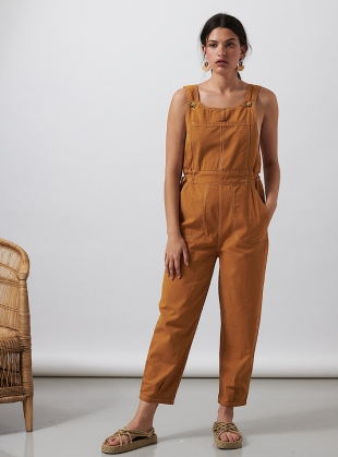 Mustard HOPE DUNGAREES by SIDELINE
