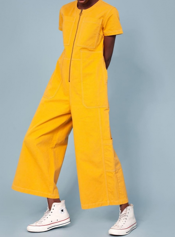 FELIX BOILERSUIT. Saffron by LF Markey