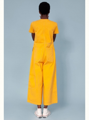 Young British Designers: FELIX BOILERSUIT. Saffron by LF Markey