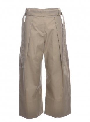 MINNEL TROUSER. Deep Sand by Eudon Choi