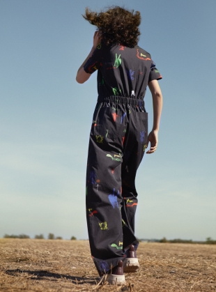 Young British Designers: WOLF BOILER SUIT. Voodoo Swamp by Klements