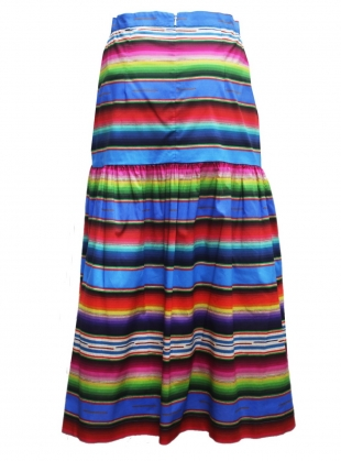 Young British Designers: DUSK MIDI SKIRT. Marfa Sunset by Klements