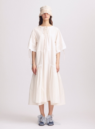Louisa Natural Cotton Dress - Last one (S) by Renli Su