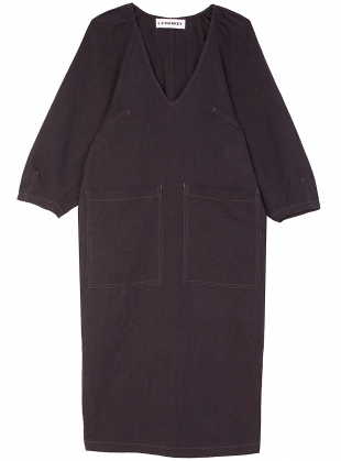 Young British Designers: MERCER DRESS. Black by LF Markey