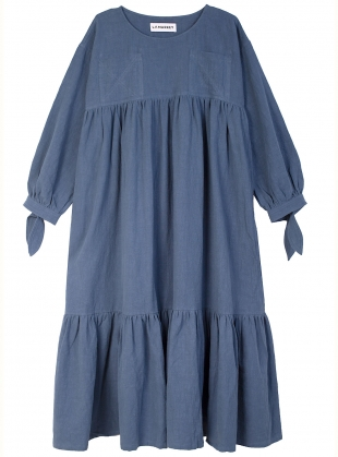 Young British Designers: KELVIN DRESS. Denim Blue by LF Markey