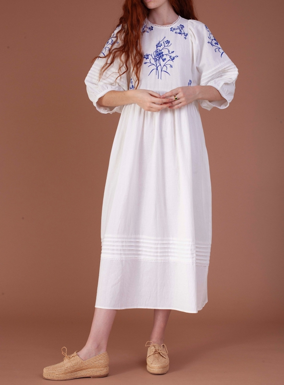 Young British Designers: AZALEA Bluebell DRESS - Sold out by Meadows