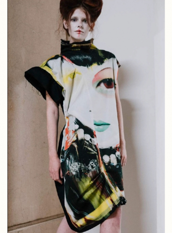 Young British Designers: THE CHAOS DRESS by IA London