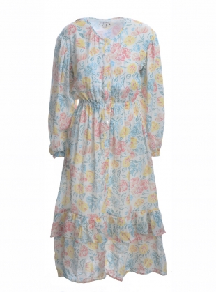 STATICE FLORAL DRESS by Meadows