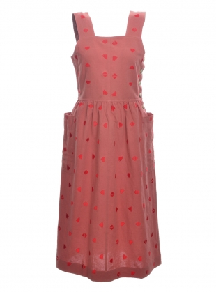 Young British Designers: Dusty Rose SHORE DRESS - Sold out by SIDELINE